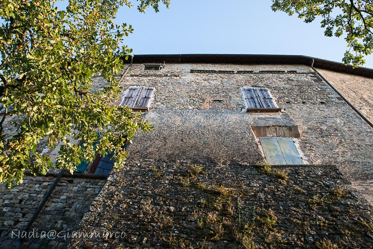 Facciata del Castello di Bianello (RE)