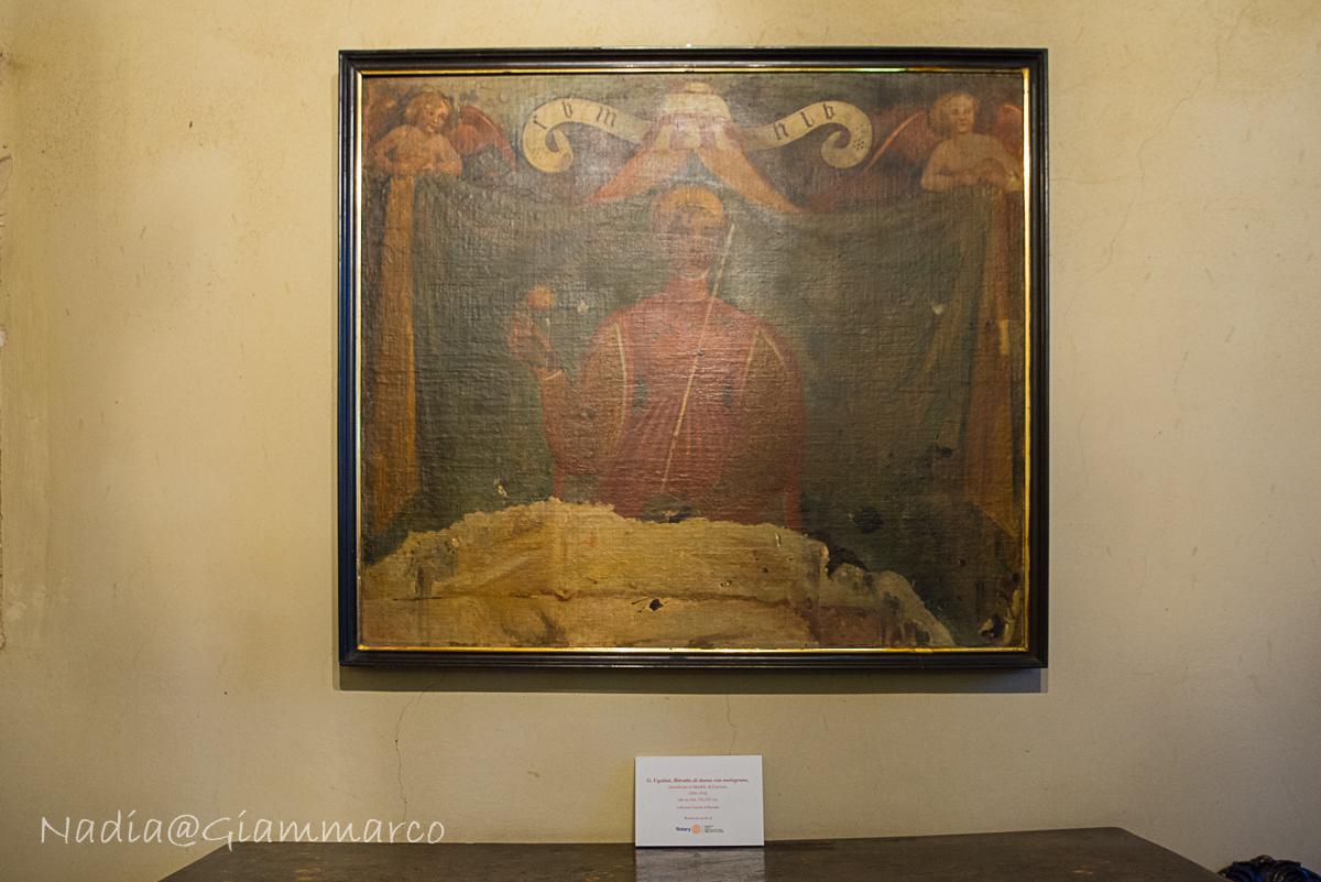La Donna con il Melograno - Giuseppe Ugolini