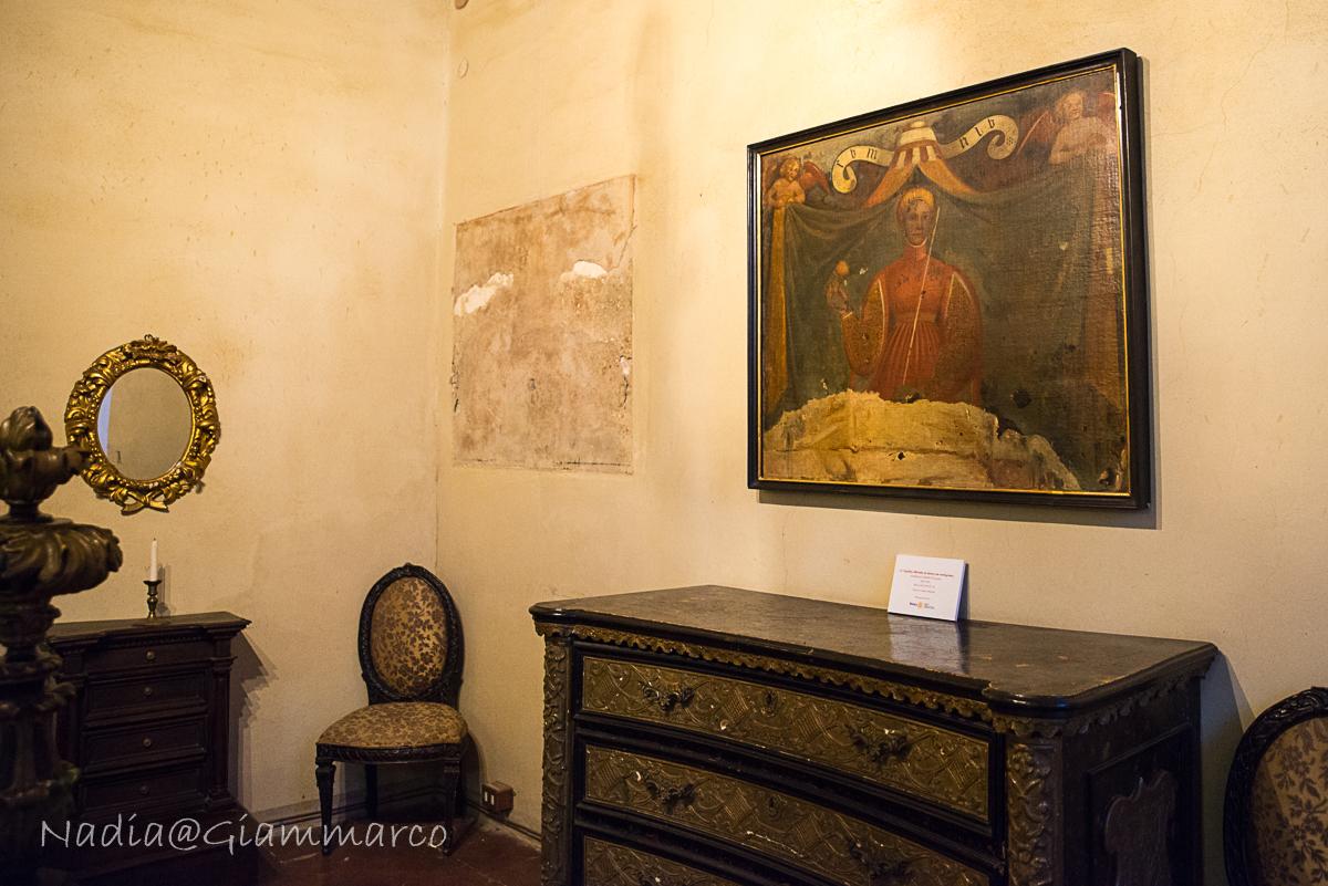 La Donna con il Melograno - Castello di Bianello (RE)