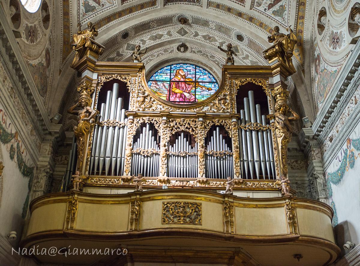 Organo a canne di Giuseppe Bonatti - San Benedetto in Polirone