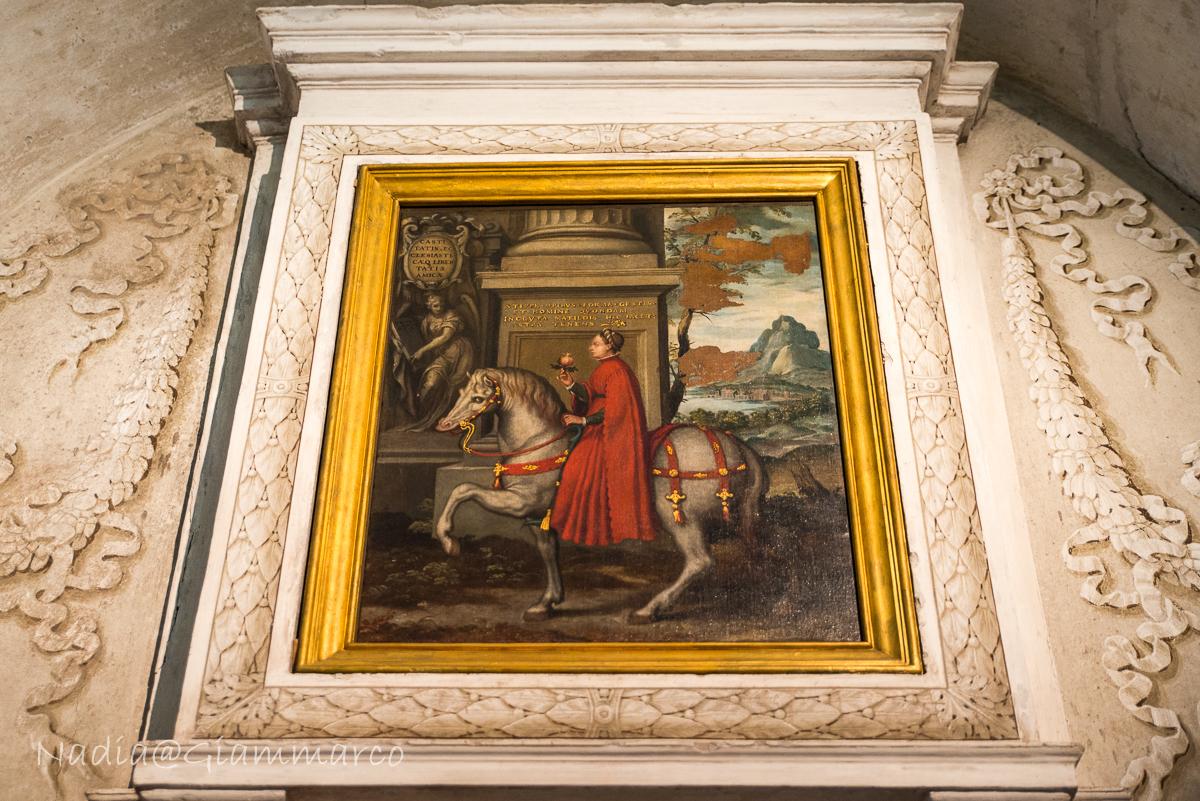 Matilde di Canossa in un quadro di Orazio Farinati