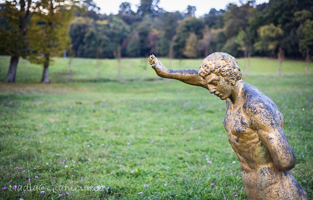 Scultura nel parco di Pratolino