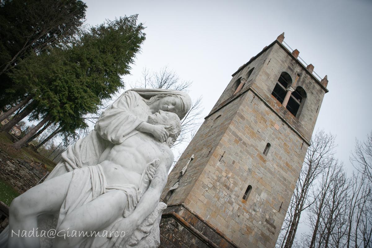 Il campanile novecentesco - Abbazia di Frassinoro
