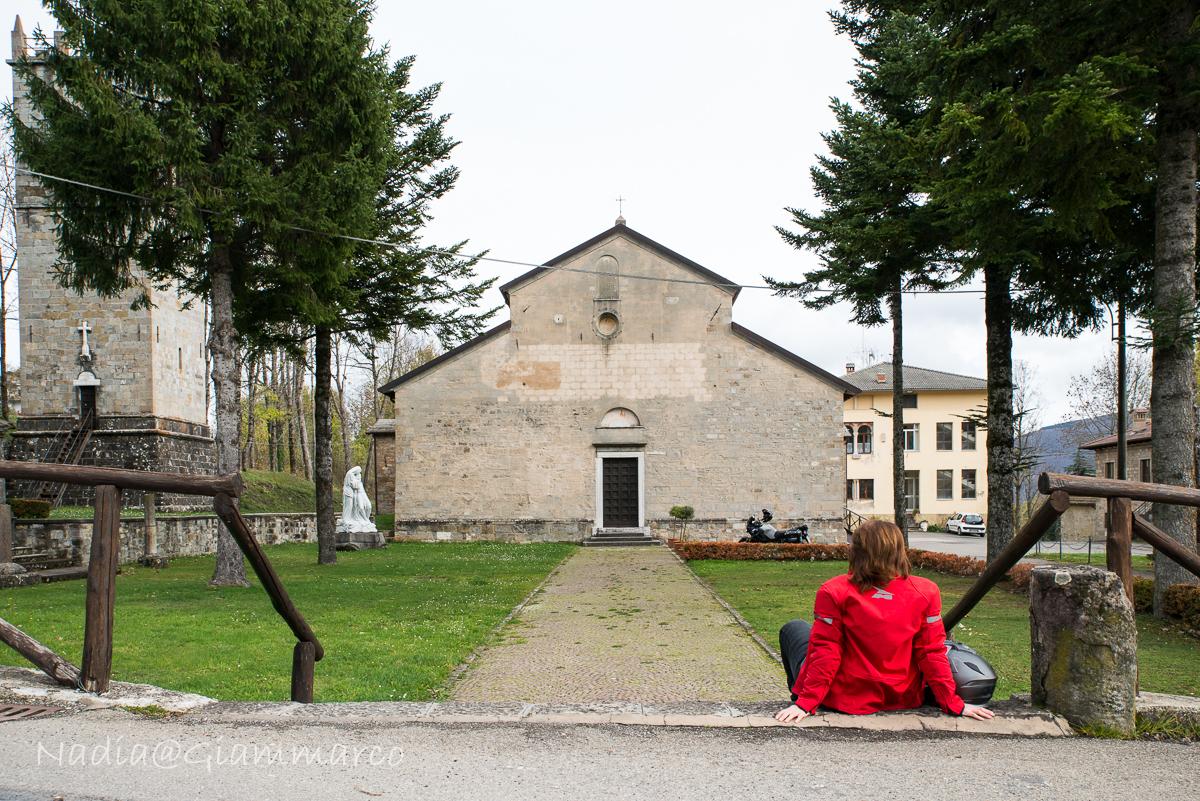 ABBAZIA DI FRASSINORO, SULLA VIA BIBULCA VERSO LA TOSCANA