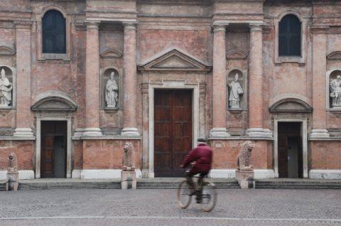 Reggio Emilia, piazza Prampolini, il Duomo
