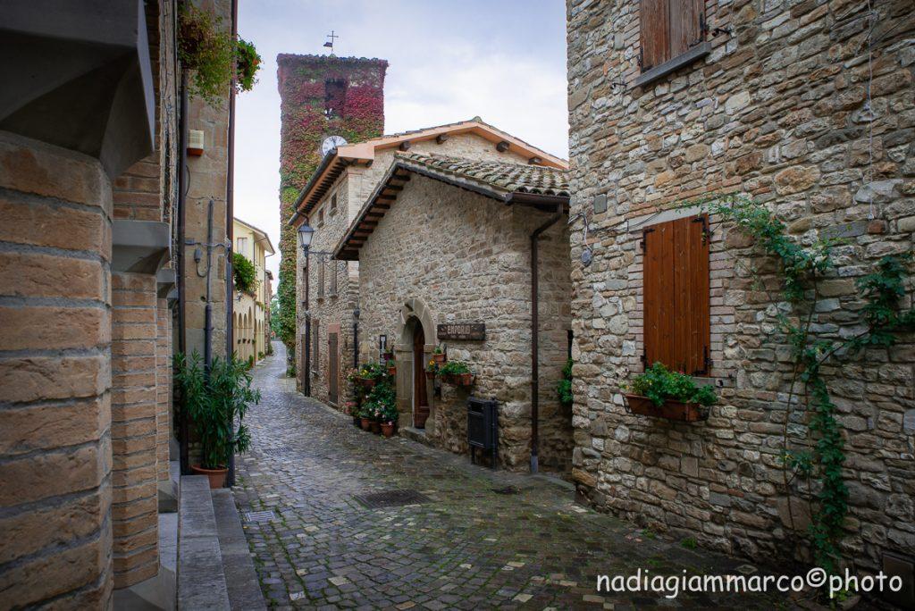 Borgo medievale di Frontino (PU)