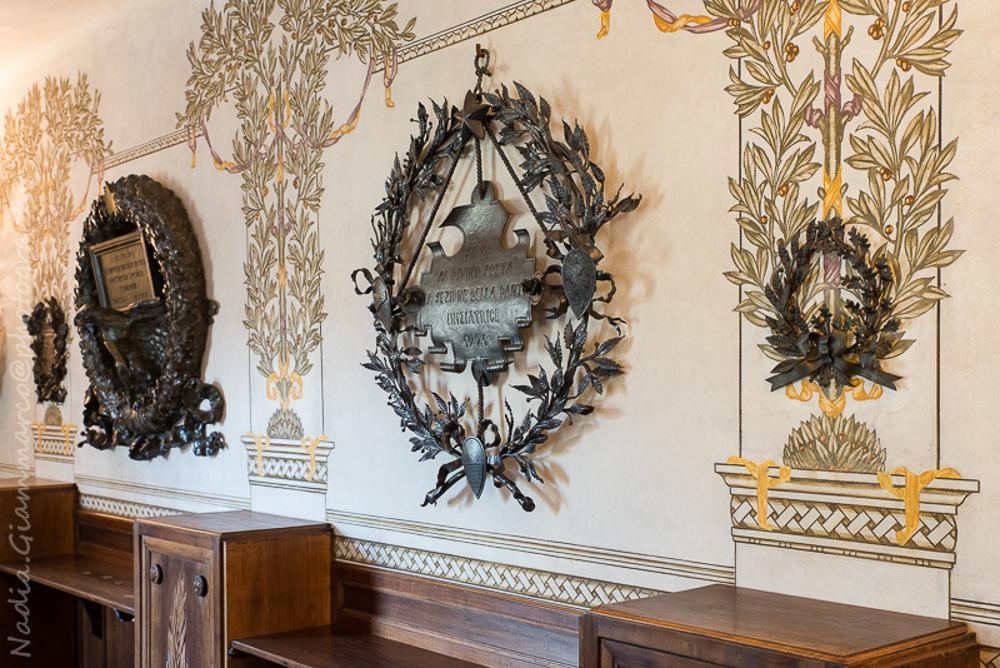 Area museale dove viene illustrato il percorso di ricostruzione del volto di Dante Alighieri