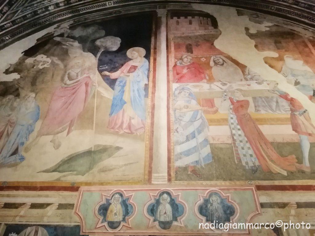 Castello di Poppi. La cappella dei Conti Guidi