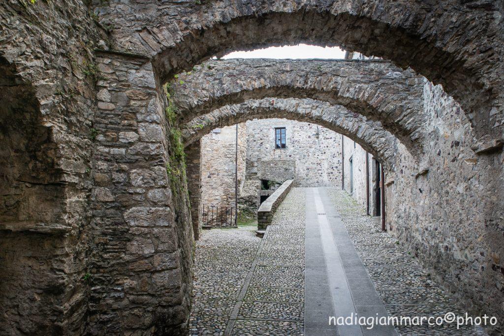 Entrata del Castello di Bardi in provincia di Parma